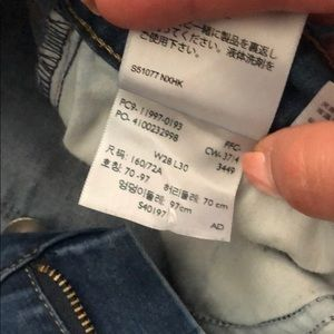 Levi's Jeans - Levi legging stretch jeans